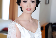 Timeless beauty make up for bride to be Mellisa by Agnes Yosi Make Up Artist
