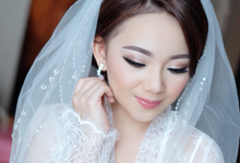 make up for bride to be Mrs Gaby by Agnes Yosi Make Up Artist