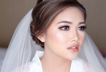 morning look mrs sasa wang by Agnes Yosi Make Up Artist