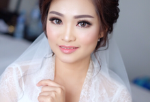 Morningg look for Mrs Juwita by Agnes Yosi Make Up Artist
