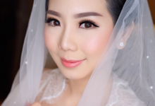Brides make up for Mrs Sunny by Agnes Yosi Make Up Artist