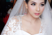Bride Mrs. mei by Agnes Yosi Make Up Artist