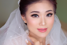 bride Mrs marsha by Agnes Yosi Make Up Artist