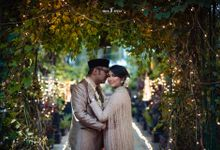 The Wedding of Agnes & Ghea by Trickeffect