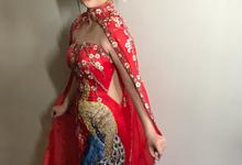 Sangjit makeup  by AgnesAng Makeup