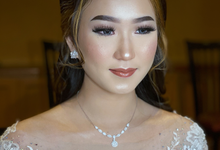 Wedding Makeup - Bride Ai Ren  by AgnesAng Makeup
