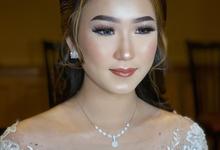 Wedding Makeup - Bride Ai Ren  by AgnesAng Makeup