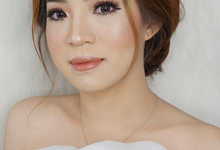 Test makeup for Bride To Be Ms. Vera by AgnesAng Makeup