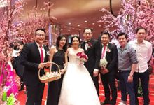 AGUS AND CHRISTINI WEDDING by Floline Flower