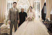 The wedding of Hansen & Siuvanny by AGVSTA by Bethania