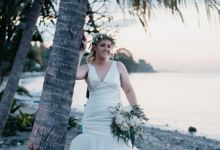 Amed Bali Destination Wedding by Mariyasa