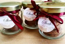 Mini Cookies In A Jar by Whipped Love