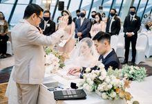 JHL Solitaire - Adit & Angelica Widya by Matteo Wedding Organizer