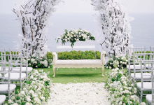 White elegance by AiLuoSi Wedding & Event Design Studio