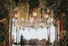 Greenery and Rainforest theme by AiLuoSi Wedding & Event Design Studio