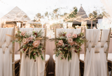 Simplicity of Dusty nude  by AiLuoSi Wedding & Event Design Studio