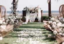 Nude classy  by AiLuoSi Wedding & Event Design Studio