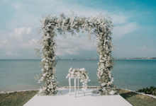 White wedding  by AiLuoSi Wedding & Event Design Studio