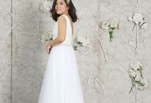 White Prewedding Gown (2) by Byagnesisabela