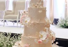 The Wedding of Jeremiah & Teresia by KAIA Cakes & Co.