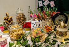 Mia in Wonderland Childrens Birthday Party by Alfonso's Catering