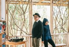 Prewedding Puspa & Panji by artones