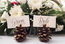 Buffalo Plaid Styled Shoot  by AJR Designs