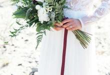 Fern Fraser River Lodge Wedding  by AJR Designs