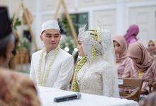 Kebaya Akad Nikah Andini & Irvan by LAKSMI - Kebaya Muslimah & Islamic Bride