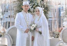 Intimate Akad Nikah Syar'i - Nimas by LAKSMI - Kebaya Muslimah & Islamic Bride