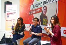 MC at Leisure Brand Fair & Zumba Fest by Akar Suara Entertainment