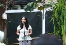 MC at April & Damar Wedding by Akar Suara Entertainment