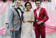 MC at Grisye & Robert Wedding by Akar Suara Entertainment