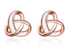 Infinity Line Earring by TIARIA