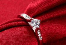 Tiaria Custom Engagement Ring 4 Perhiasan Cincin Tunangan Emas dan Berlian by TIARIA