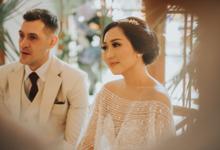 Gabby & Hugo Wedding  by Akuwedding