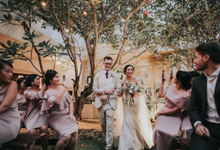 Gabby & Hugo Wedding  by Akuwedding