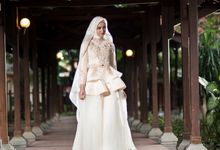 Kemilau Senja Series  by LAKSMI ISLAMIC BRIDE by LAKSMI - Kebaya Muslimah & Islamic Bride