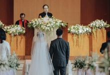 Wedding Of Alan & Katarina by Skenoo Hall Emporium Pluit by IKK Wedding