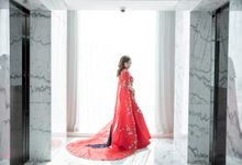 New Normal Wedding of Aldi & Astri by IKK Wedding Venue