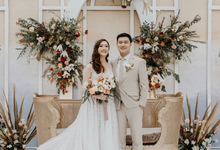 Yunita wedding day by Alethea Sposa