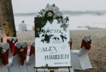 The Wedding of Alex and Maureen by Gaiasophy