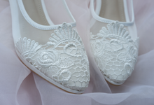 Christie  shoes by Alexa Wedding Shoes