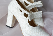 Angela Smith  by Alexa Wedding Shoes