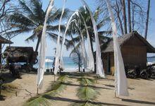 Wedding at Sandy Beach of East Bali by Alila Manggis