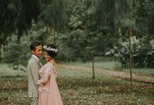 rustic wedding rere & gilang by Alinea