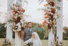 Shafiera & Mirza Akad Nikah & Reception Wedding by Golf Graha Famili