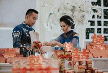 Traditional Proposal of Simon & Santi by Cherish Event Organizer