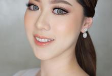Brides makeup by AlineVaniaMakeup