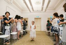 The Wholesome Wedding of Rene & Jiawei by Chijmes Hall by Watabe Singapore Pte Ltd